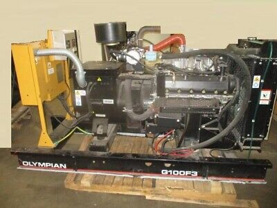 100kw Propane Or Natural Gas Catolympian 480v Generator