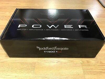 Rockford Fosgate Power T1500-1BDCP 1500 Watt Class-bd Constant Mono Amplifier