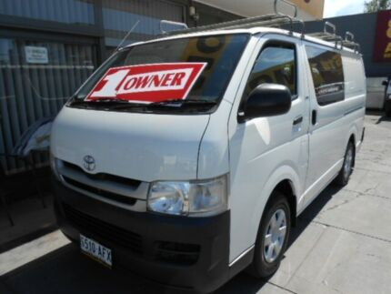 2009 Toyota Hiace TRH201R MY07 Upgrade LWB White 5 Speed Manual Van West Hindmarsh Charles Sturt Area Preview