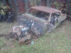 1970 gto parts only this car is rusted to hell