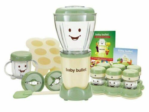 Magic Baby Bullet BBR-2001 Complete Food Blender Processor System - Green
