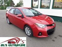 2014 Toyota Corolla S loaded for only $135 bi-weekly all in!
