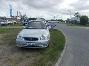 2004 Hyundai Accent Silver Automatic Sedan Maddington Gosnells Area Preview