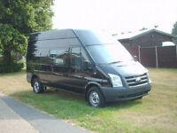 Ford Transit 2.4TDCi 9 seat ex mod crew van met black low miles fmdsh