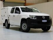 2013 Volkswagen Amarok 2H MY13 TDI420 4Motion Perm White 8 Speed Automatic Cab Chassis Bibra Lake Cockburn Area Preview