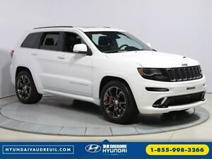 2015 Jeep Grand Cherokee SRT8 BLANC PARFAIT