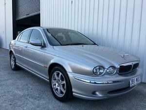 2002 Jaguar X-Type X400 SE Silver 5 Speed Automatic Sedan Parkwood Gold Coast City Preview