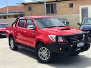 2014 Toyota Hilux KUN26R MY14 SR5 Double Cab Red 5 Speed Automatic Utility Palmyra Melville Area Preview