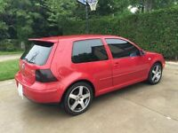 2001 Volkswagen GTI GLS Coupe (2 door)