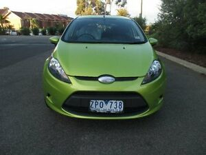 2009 Ford Fiesta WS LX Green 5 Speed Manual Hatchback Hoppers Crossing Wyndham Area Preview