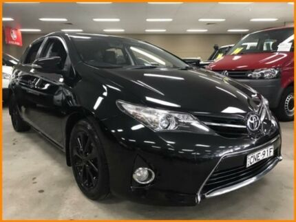 2013 Toyota Corolla ZRE182R Ascent Sport Black 7 Speed CVT Auto Sequential Hatchback