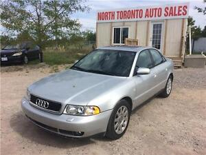 2001 AUDI A4 - AWD - SUNROOF - LEATHER - POWER OPTIONS
