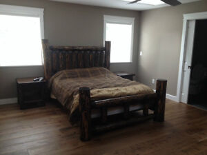 Hand crafted one of a kind real wood beds by local family Co. Comox / Courtenay / Cumberland Comox Valley Area image 6