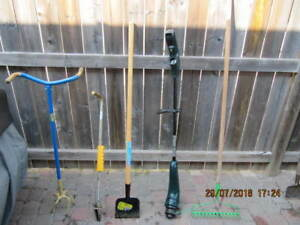 Classic 5pc Lot Of Garden Tools Less Then Half Price Take All!!!
