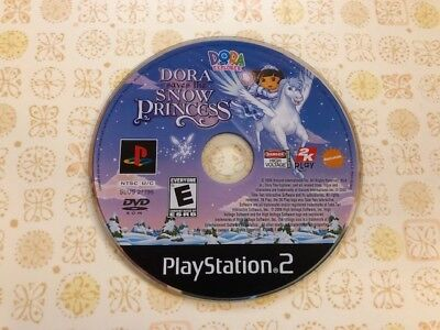 DORA THE EXPLORER DORA SAVES THE SNOW PRINCESS - PS2 PLAYSTATION 2 - DISC ONLY Playstation 2 Dora