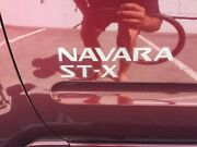 2009 Nissan Navara D40 ST-X King Cab Burgundy 6 Speed Manual Utility Mornington Mornington Peninsula Preview