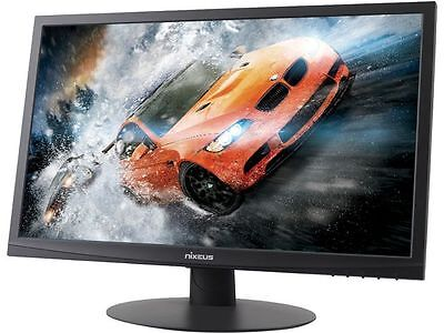 "شاشة ليد جديد Nixeus NX-VUE24B Black 24"" 1ms HDMI Widescreen LED Backlight LCD Monitor"