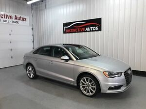 2015 Audi A3 2.0T Progressiv Quattro AWD/LEATHER/PANORAMIC ROOF