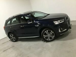 2016 Holden Captiva CG MY16 LTZ AWD Blue 6 Speed Sports Automatic Wagon Mile End South West Torrens Area Preview