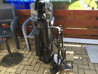 Golf Clubs, Macpherson graphite oversize full set.