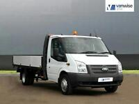 2013 Ford Transit 350 DRW Diesel white Manual