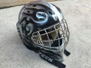 Hockey Goalie Mask Ball or ice Mens senior Large