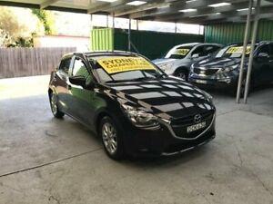2015 Mazda 2 DJ2HAA Maxx Black Sports Automatic Hatchback