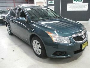 2012 Holden Cruze JH Series II MY12 CD Blue 6 Speed Sports Automatic Sedan Maryville Newcastle Area Preview