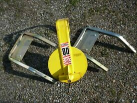 Bulldog QD \wheel Clamp suitable for caravan