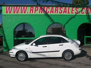 2005 Ford Focus LR CL White 5 Speed Manual Sedan Nailsworth Prospect Area Preview