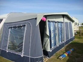 Caledonian Lux Awning size 8 (825cm)