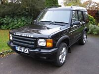Land Rover Discovery 2 V8i XS Auto 2001. 7 seats, Twin Sunroofs, MOT until end of November.