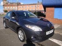 61 REANULT MEGANE DCI DYNAMIQUE TOM TOM ESTATE DIESEL £20 A YEAR TAX