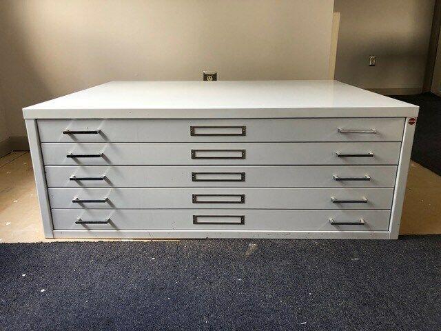 5 Drawer Flat File 32x40