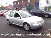 2004 (04 Reg) Volkswagen Bora 2.0 SPORT 4DR Hatchback SILVER + LOW MILES