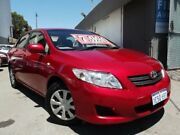 2008 Toyota Corolla ZRE152R Ascent Burgundy 4 Speed Automatic Sedan East Victoria Park Victoria Park Area Preview