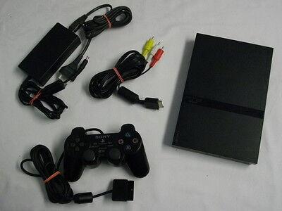 Playstation 2 Slim Konsole komplett mit Controller PS2 PS 2 (Ps2 Komplett Konsole)