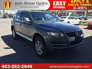 2008 Volkswagen Touareg V6 LEATHER, ROOF EVERYONE APPROVED!