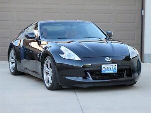 2010 Nissan 370Z Sport Touring/Coupe Black/Black