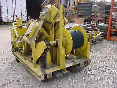 Otis Engineering Corp Hydraulic Powered Single Drum Research Winch Model 86