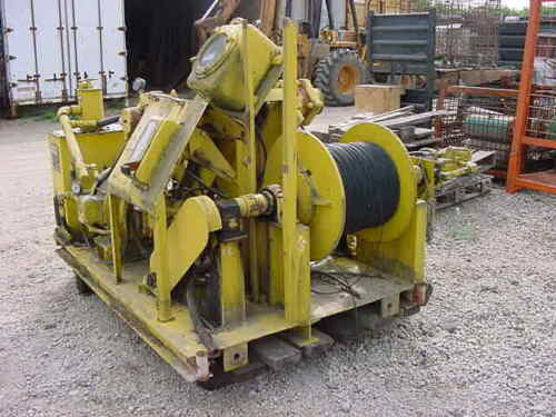 Otis Engineering Corp Hydraulic powered, single drum Research Winch, Model 86