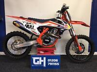2016 KTM SXF 450 FACTORY EDITION | 8 HOURS USE ONLY | FULL FMF TI EXHAUST CLEAN!