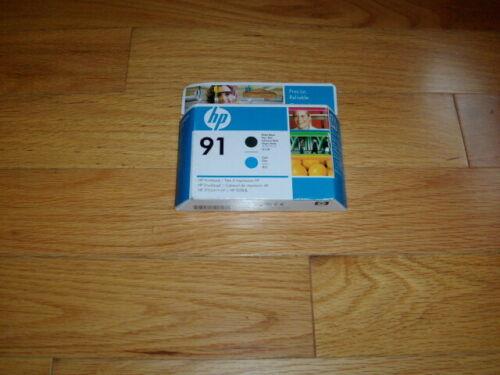 GENUINE HP #91 Matte Black/Cyan PRINTHEAD DESIGNJET Z6100 C9460A FACTORY SEALED