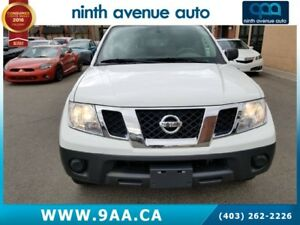2013 Nissan Frontier S 4x2 King Cab 126 in. WB, Rear wheel drive