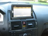 "Mercedes C-class 08-11 navigation OEM upgrade to 7"" w204 NTG 4"