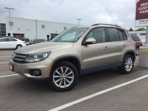 2015 Volkswagen Tiguan Highline In the top 5 affordable cross...