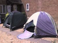 Camping 2 Igloo Tents - Heathrow