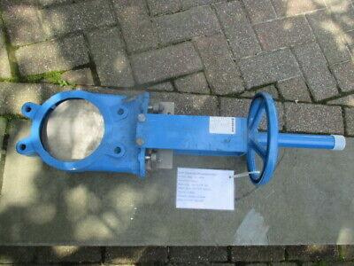Orbinox Ex04 6 Knife Gate Valve Metal Seatgg25 Body Handweel Actuator New