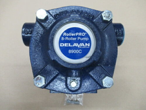 DELAVAN 8900C CAST IRON 8-ROLLER PUMP UPC:830344004002