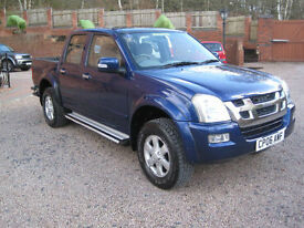 2006 06 Isuzu Rodeo 3.0TD LE Denver Max Blue Metallic
